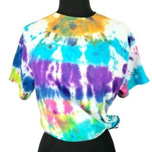 2/$20 Tie Dye T Shirt Colorful Soft